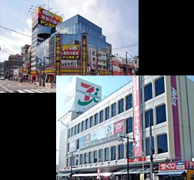 西川口駅周辺のビル写真