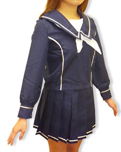 ラブプ○ス私立十羽野高校制服