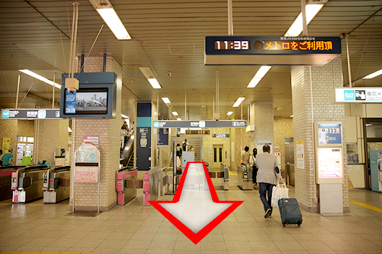 葛西駅 中央改札