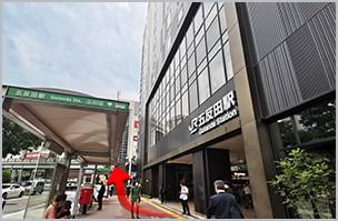 JR五反田駅前