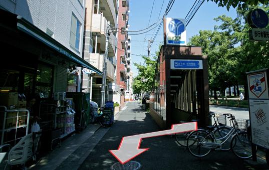 地下鉄阪東橋駅「3B出口」