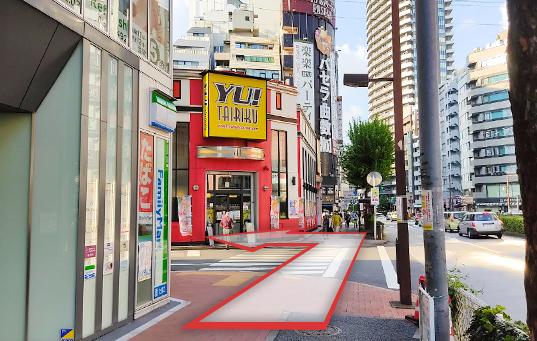 劇場通り(パチンコ/スロット YU!TAIRIKU前)