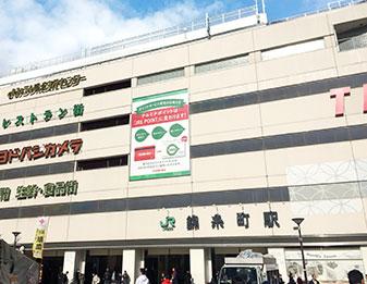 錦糸町駅前(南口)