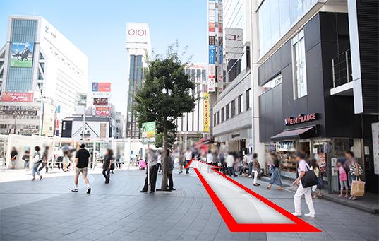 錦糸町人妻ヒットパレードへの道順2