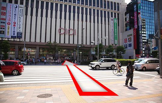 錦糸町人妻ヒットパレードへの道順3