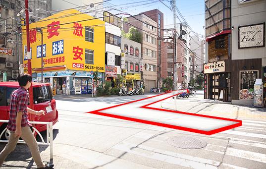 錦糸町人妻ヒットパレードへの道順5