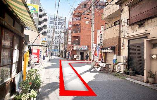 錦糸町人妻ヒットパレードへの道順7