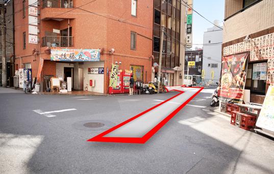 錦糸町人妻ヒットパレードへの道順8