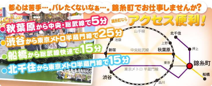アクセス便利な錦糸町ティラミス