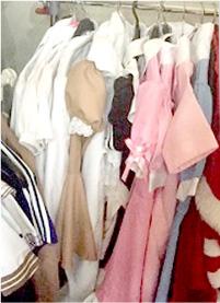 貸出用の洋服
