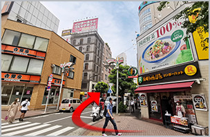 五反田人妻ヒットパレードへの道順6