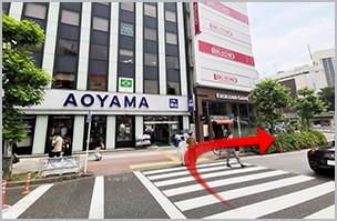 五反田人妻ヒットパレードへの道順4