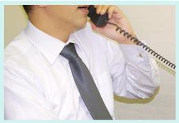 電話に出る人は丁寧ですか?イメージ画像